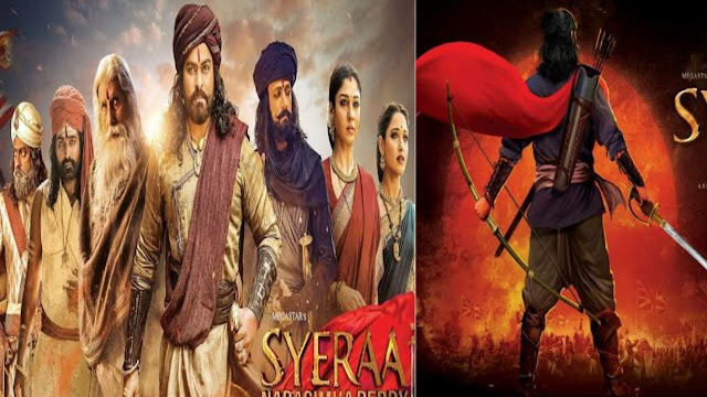Sye Raa Narasimha Reddy 2019 | Aye Raa Narasimha movie | Sue Raa Narasimha Reddy review and release date