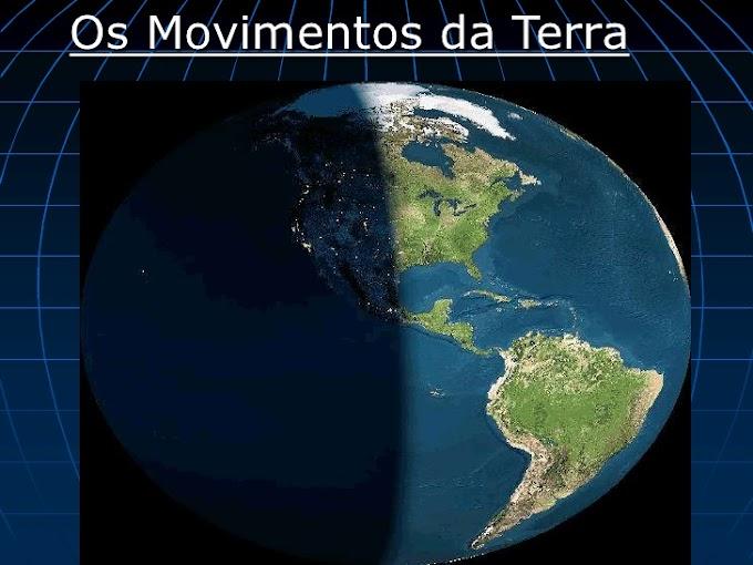 OS MOVIMENTOS DA TERRA.