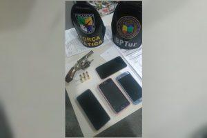 Três homens são presos em Aracaju após roubo na cidade de Riachuelo