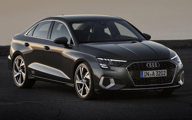 Novo Audi A3 Sedan 2021 - dianteira