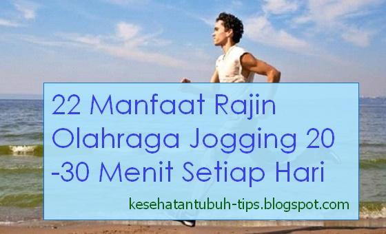 Berbeda dengan sprint atau lari cepat yang sanggup menciptakan tubuh cepat lelah Inilah 22 Manfaat Rajin Olahraga Jogging 20-30 Menit Setiap Hari