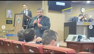 Roberto Paulino representa o governador em palestra sobre urnas eletrônicas no TRE-PB