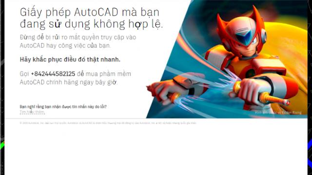 Hướng dẫn xóa thông báo bản quyền các sản phẩm của Autodesk