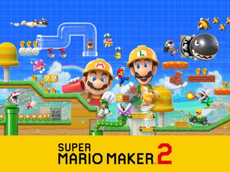 Super Mario Maker 2 Compite Con La Fantasia Heroica Armario De