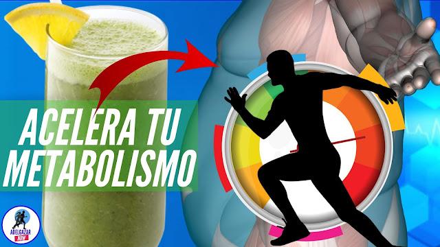 Como Acelerar el Metabolismo para Perder Peso con Esta Bebida Adelgazante