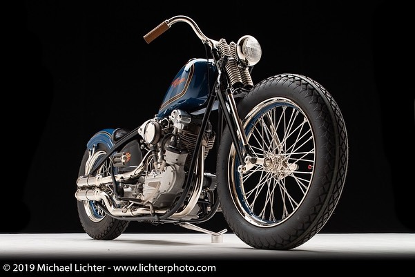 Harley Davidson knucklehead By Union Speed and Style Hell Kustom
