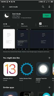 aplikasi dark mode untuk mengaktifkan fitur dark mode instagram