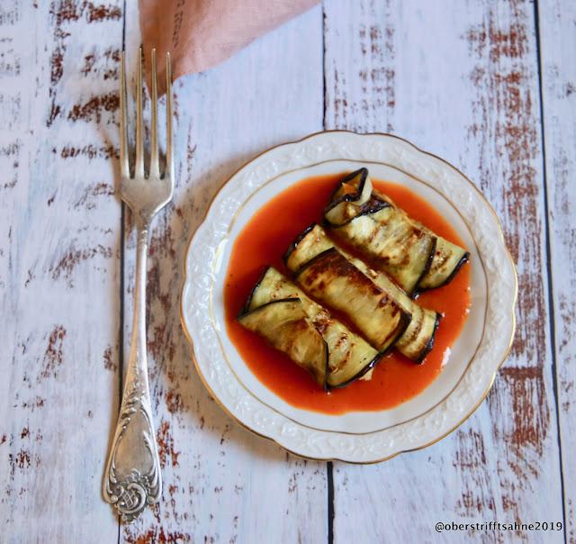 Vegetarisches Rezept mit Aubergine