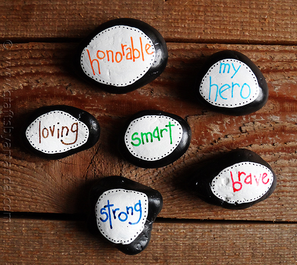 manly kindness rock sayings ideas