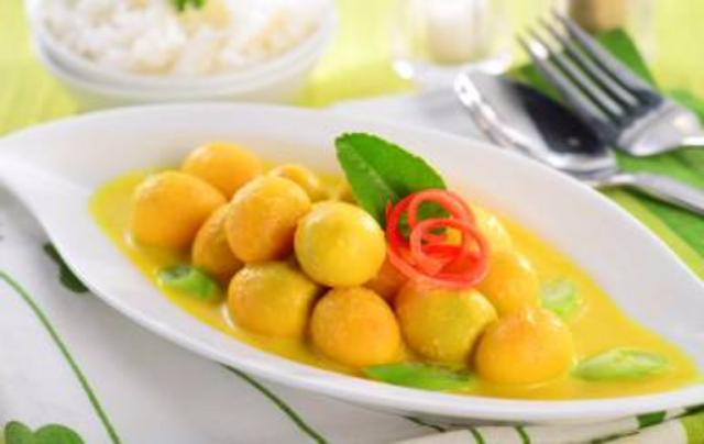 spesialresep.com - Spesial Resep Makanan dari Telur Puyuh Bumbu Kuning