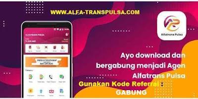 Aplikasi Alfatrans Pulsa