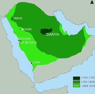 Expansión del reino Saudí en la península arábiga
