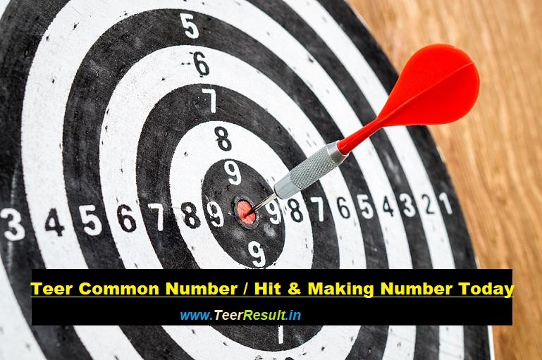 Teer Common Numbers - TeerResult in
