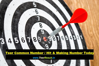 Teer Common Number Today