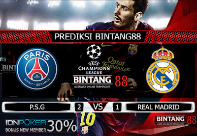 PREDIKSI SKOR PSG VS REAL MADRID 19 SEPTEMBER 2019
