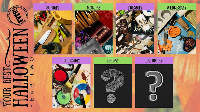 Your Best Halloween Ever, Year Two Daily Theme Reveal Calendar