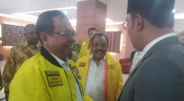 Priyo Budi Santoso & Ridwan Kamil Hadiri Bimtek Partai Berkarya Jabar