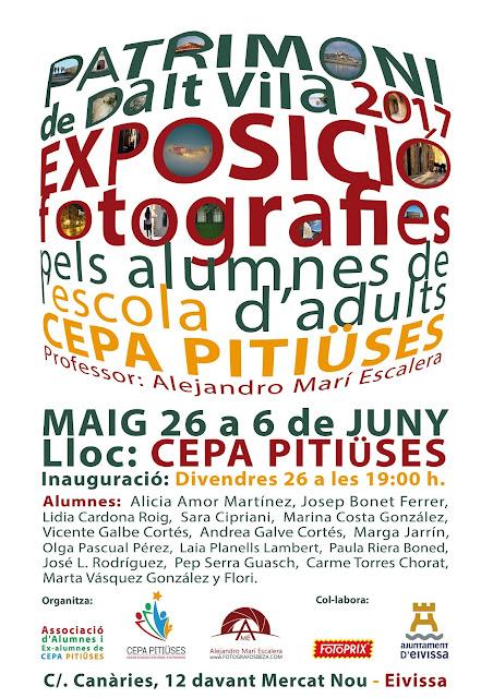 Cursos y talleres de fotografía en Ibiza, sant Antoni, Santa Eulalia impartidos por el fotógrafo de Ibiza Alejandro Marí Escalera