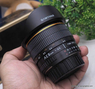 Jual Lensa Fish Eye Samyang 8mm f3.5 For nikon - Banyuwangi