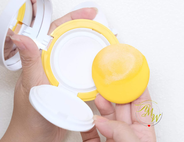 a photo of Laneige Marshmallow Sun Cushion Review