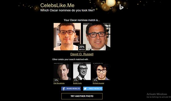 اي من المشاهير تشبهك ؟ مايكروسوفت ستخبرك !