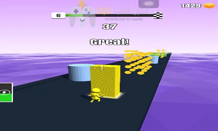 تحميل لعبة Stack Colors برابط مباشر