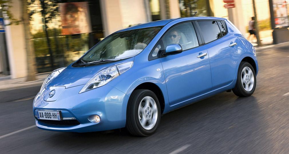 Coche eléctrico Leaf Nissan