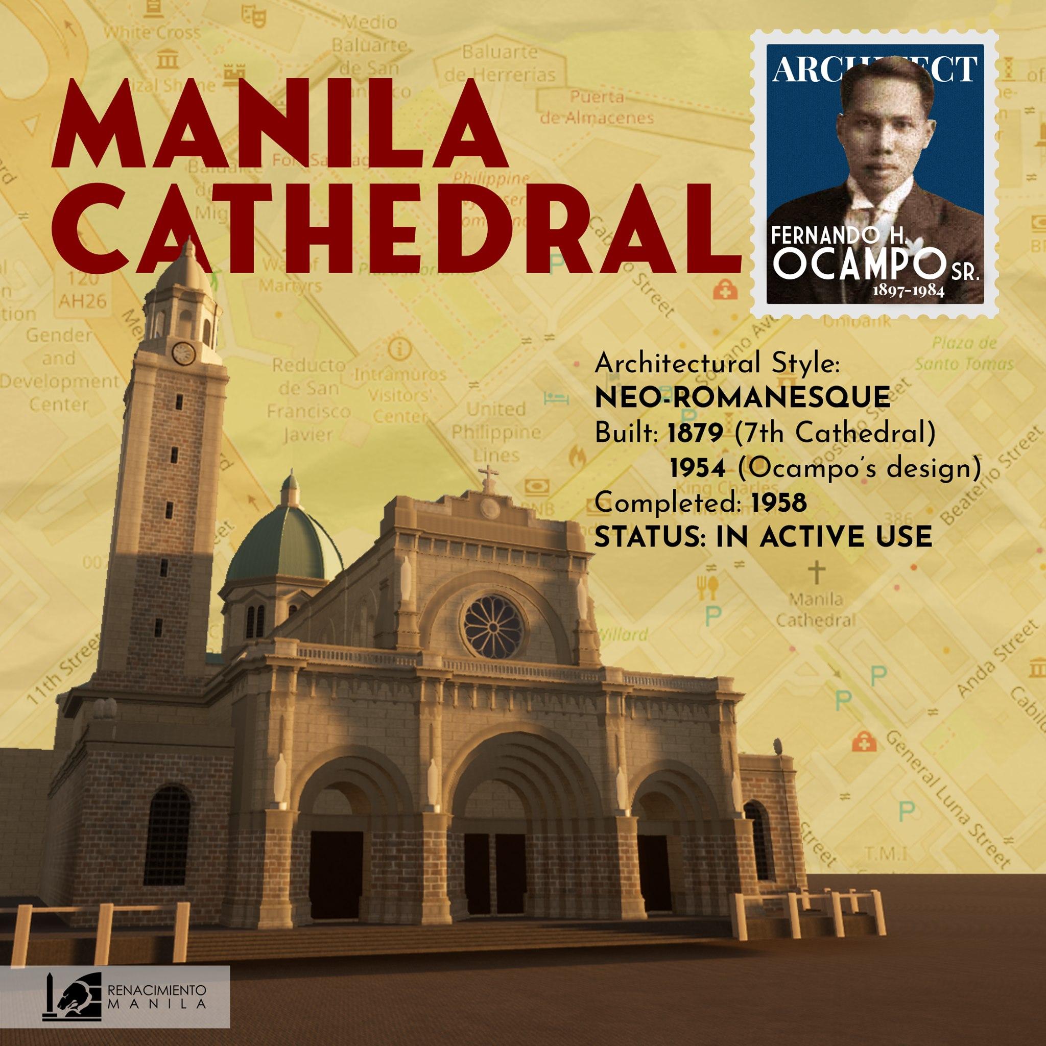 Manila Cathedral - Fernando Ocampo (1897-1984)