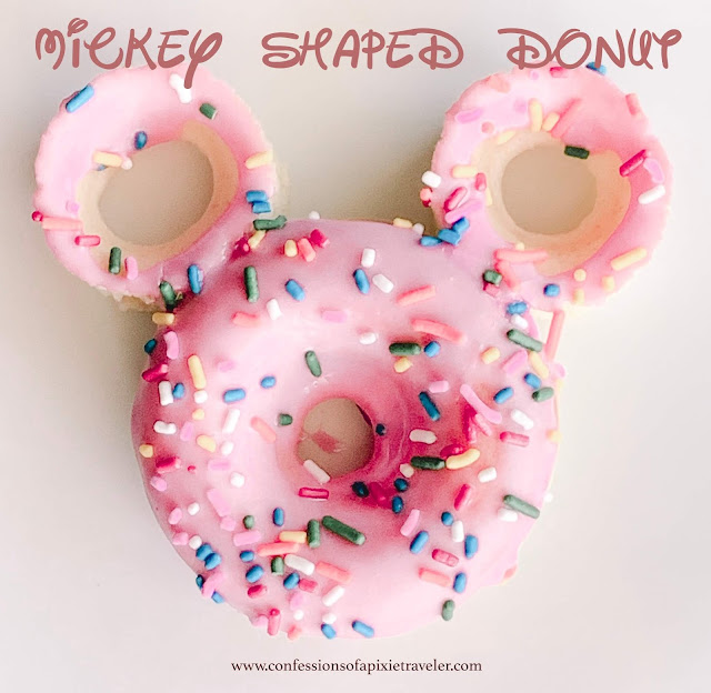 Mickey Shaped Donut