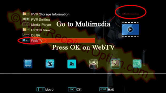 HOW TO UPLOAD M3U FILE TO OPENBOX V8S HD RECEIVER