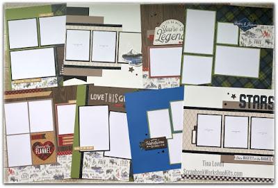 Timber Scrapbook Kit