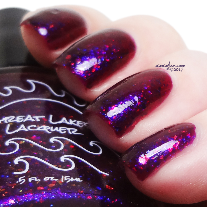 xoxoJen's swatch of Great Lakes Lacquer Happy Holidays
