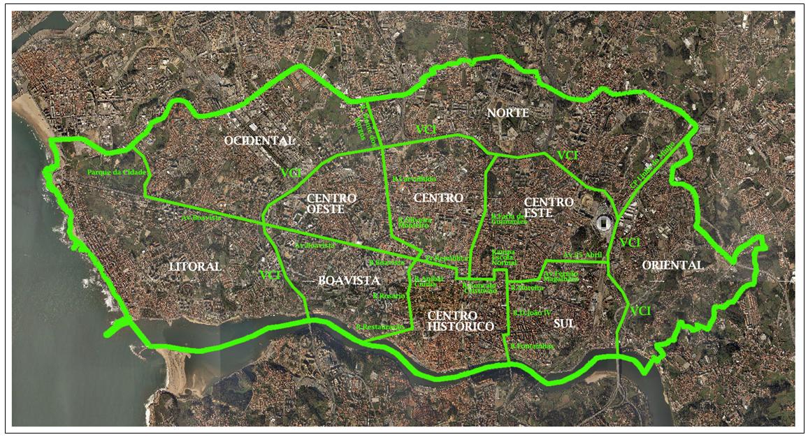 mapa freguesias concelho porto Porto Laranja: PROPOSTA DE REORGANIZAÇÃO ADMINISTRATIVA DO  mapa freguesias concelho porto