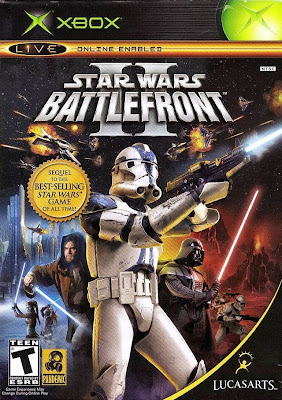 Star Wars Battlefront 2 Xbox Cover Art