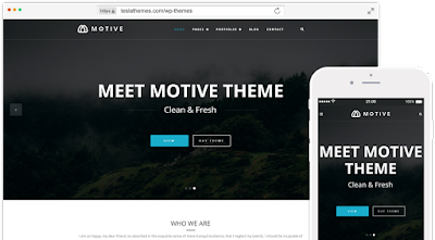 Motive-Creative Portfolio Wordpress Theme