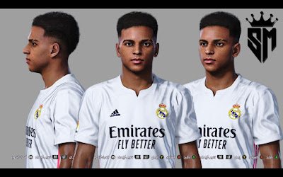 PES 2021 Faces Rodrygo Goes by Sameh Momen