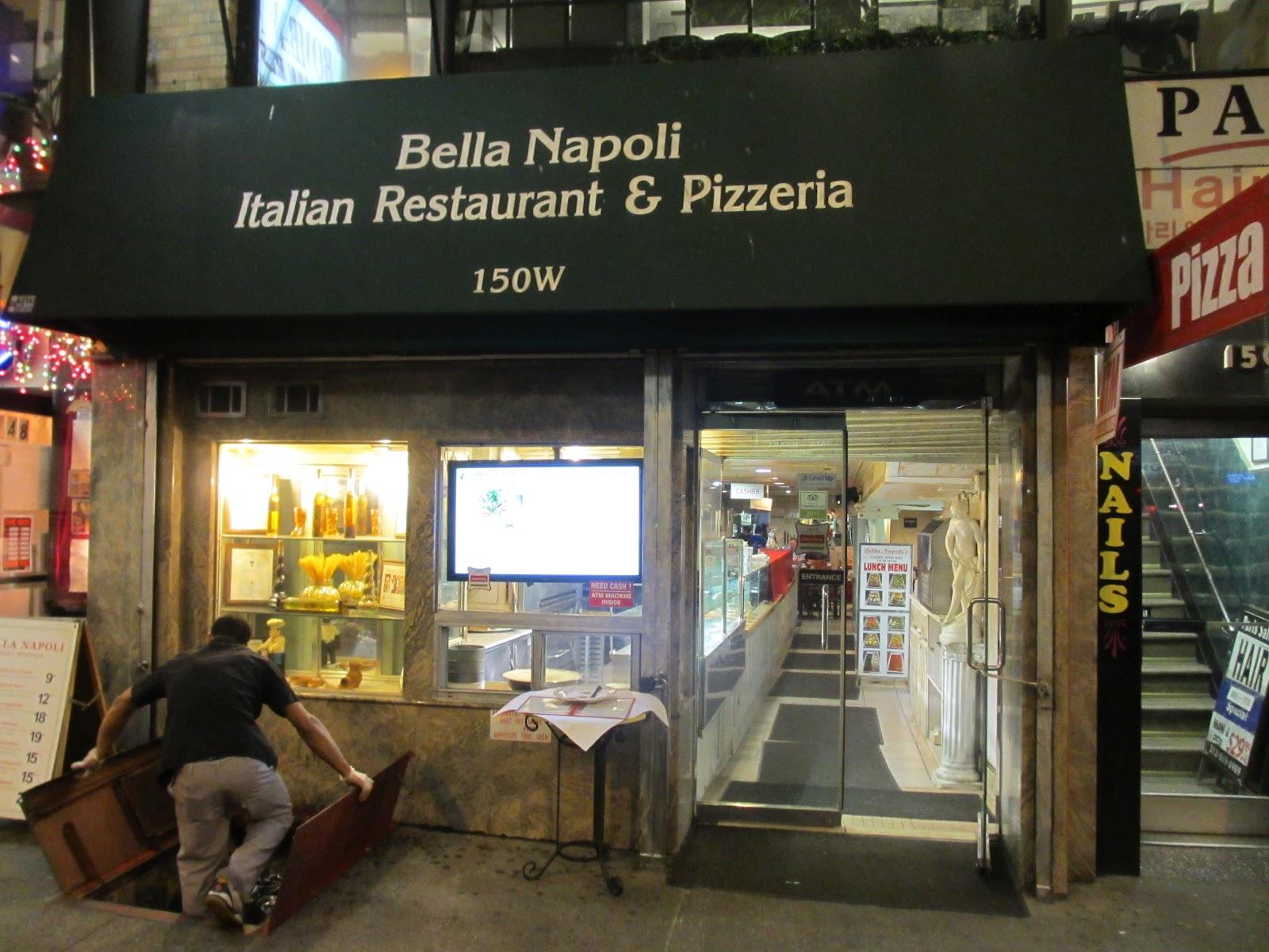 Bella Napoli Restaurant New York