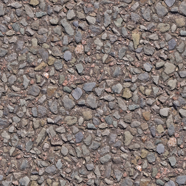 Seamless close road surface texture