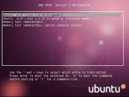 mengembalikan grub ubuntu yang hilang