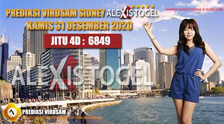 Prediksi Virdsam Sydney Kamis 31 Desember 2020