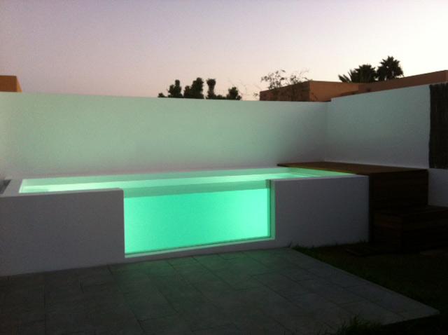 Ideas robadas y otras no piscinas para espacios peque os for Ideas para piscinas