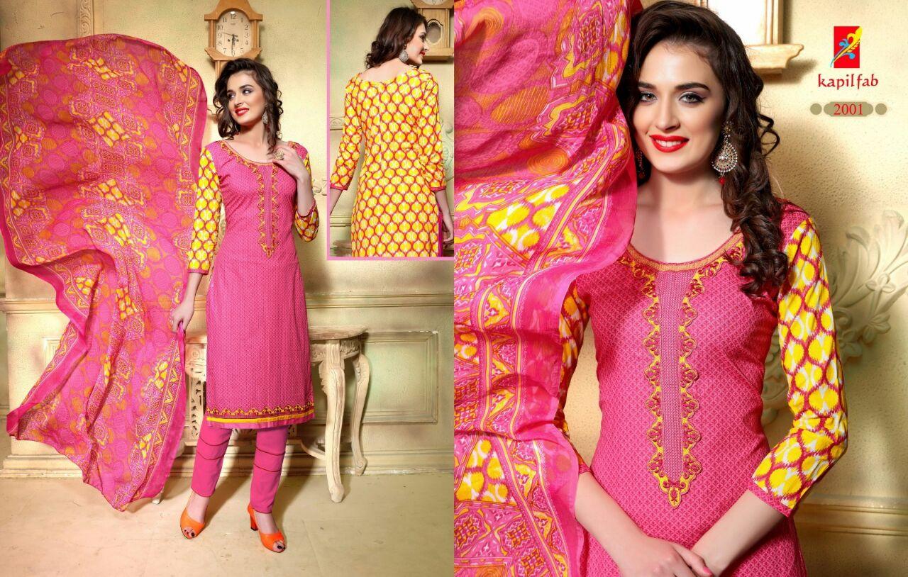 Neerja vol-2-Fancy cotton printed dress