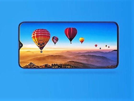 684b8f15dc4 The Samsung Galaxy M10 features a 6.22-inch IPS LCD with HD+ resolution