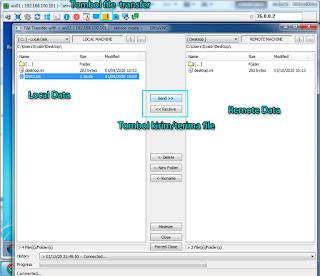 File Transfer UltraVNC
