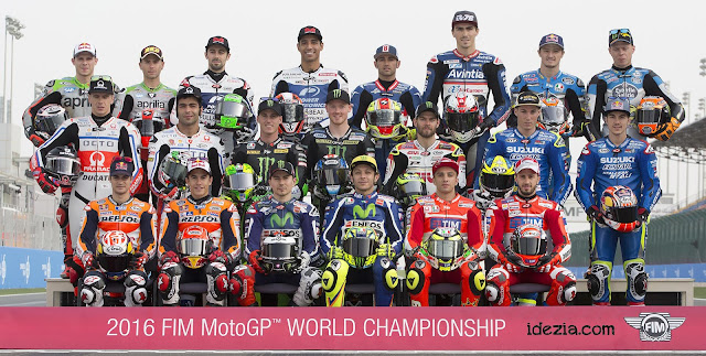 Daftar Nama Tim dan Pembalap MotoGP 2016