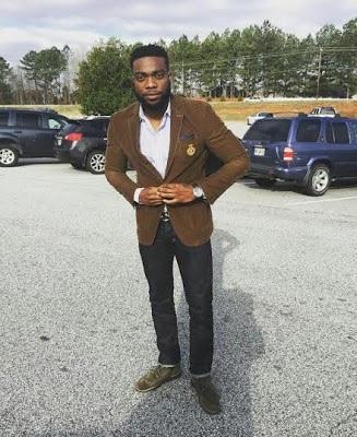 [PHOTOS] Meet Late Stephen Keshi's Handsome Son, Stephen Junior