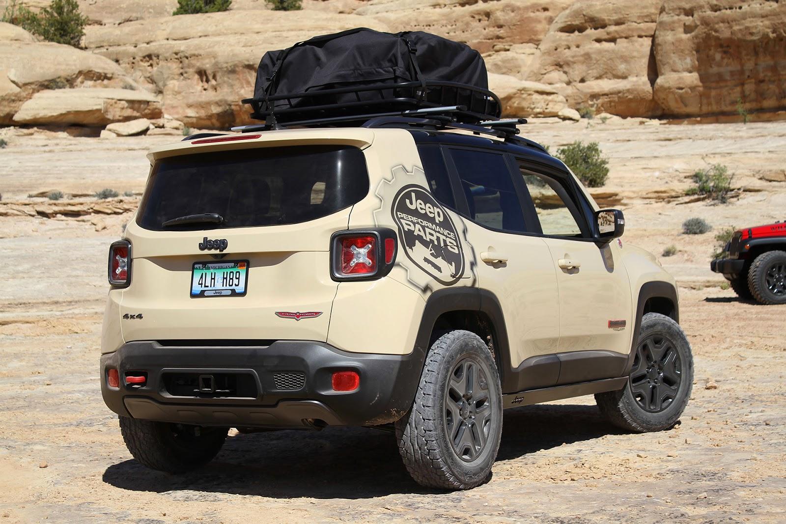 automotiveblogz jeep renegade desert hawk moab easter jeep safari. Black Bedroom Furniture Sets. Home Design Ideas