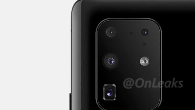 Modul Kamera Belakang Galaxy S11+