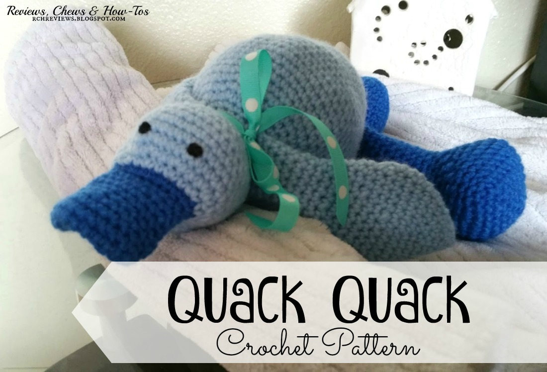 Reviews Chews How Tos Ducky Quack Quack Crocheted Duck Pattern