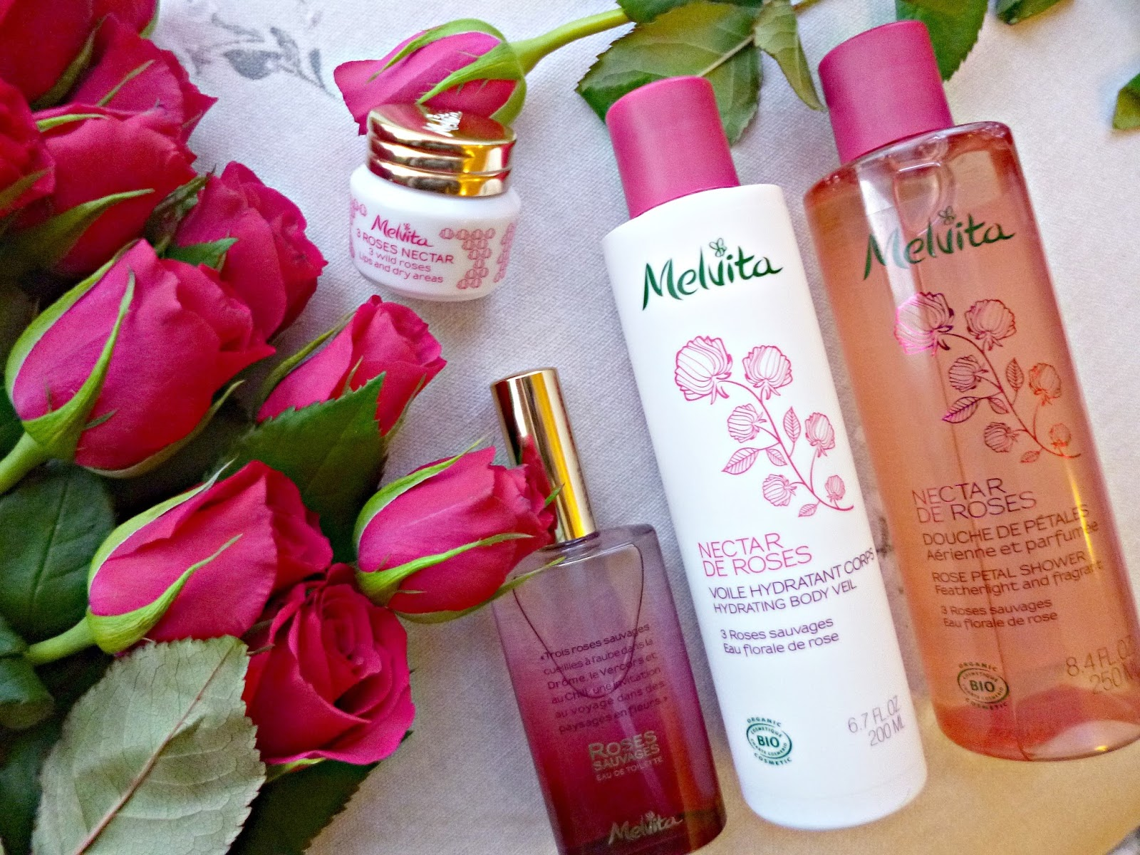 New In: Melvita Nectar de Roses Collection - Ana Green